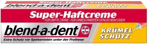 blend-a-dent Super-Haftcreme für Zahnersatz Krümelschutz je 40g