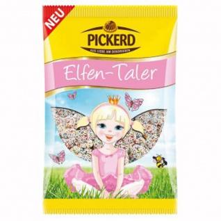 Pickerd Elfen Taler mit Zucker Dekor Perlchen Vollmilchschokolade 100g