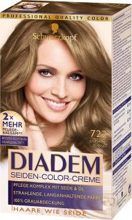 Schwarzkopf Diadem Seiden-Color-Creme Stufe 3, 722 Dunkelblond