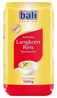 Rickmers Reismühle Bali Parboiled Langkorn Reis 1kg