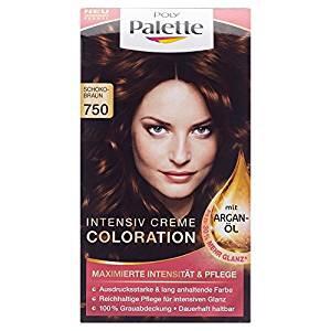 Palette Coloration Stufe 3, 750 Schokobraun, 115 ml