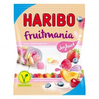 Haribo Fruitmania Joghurtbärchen Weingummi Fruchtgummi Tüte 175g