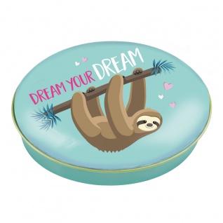 Heidel Dream your Dream Metallschuckdose mit Schokoladen Pralinen 32g