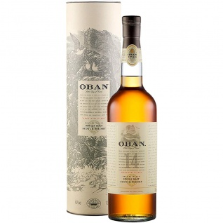 Oban 14 Jahre Highland Single Malt Scotch Whisky Schottlands 700ml
