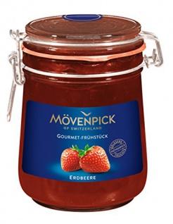 Mövenpick Gourmet-Frühstück Erdbeere, 2er Pack (2 x 850 g)