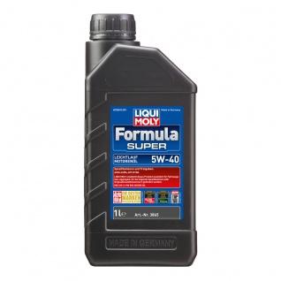 Liqui Moly Formula Super 5W 40 Hochleistungs Leichtlaufmotoröl 1L