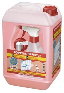 Topclin Spray Red Sanitärreiniger Entkalkungsmittel Profipower 5000ml