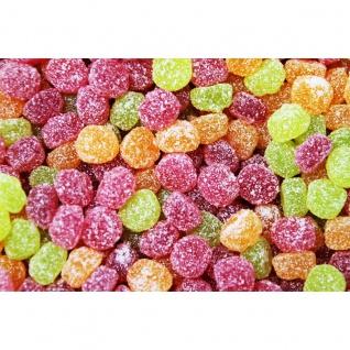 Fruchtgummi Berries Mischung sauer gezuckert kleine Kugeln 1000g