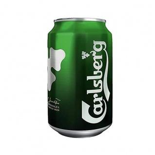 Carlsberg Premium Beer vollmundig dänisches Bier EW Dose 330ml