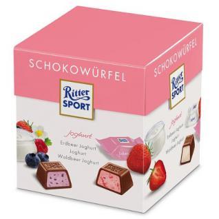 Ritter Sport Schokowürfel Joghurt Box Menge:176g