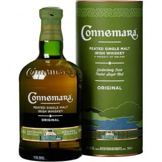 Connemara Peated Single Malt Whiskey rauchig süß und trocken 700ml
