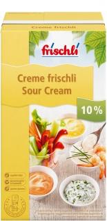 Frischli Saure Sahne Leichter und leckerer Creme fraiche Geschmack 1000g