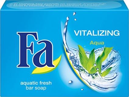 Fa Seife Vitalizing aquatischer frischer Duft Festseife 100g 3er Pack