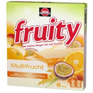 Fruity Früchteriegel Gelbe Multifrucht frisch und köstlich 144g