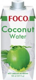 Kokosnusswasser natürlich Kokosnusssaft Getränk Inhalt 500ml