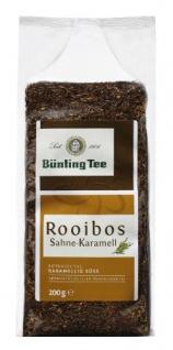 Bünting Tee Rooibos Sahne Karamell Rotbuschtee Karamellig süss