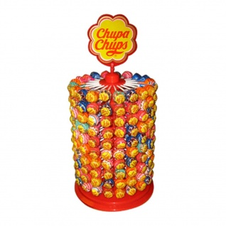 Chupa Chups Lutscher Rad The Best Of Kugel Lolly Thekendisplay 2400g
