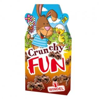 Windel Oster Crunchy Fun gefüllt mit Schoko Knusperstücken 120g