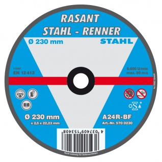 Rasant Trennscheibe 5er Pack