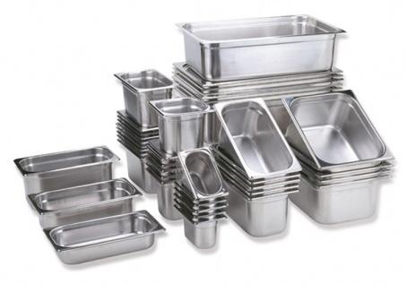 Assheuer und Pott Gastronomie Behälter aus Edelstahl 20mm tief