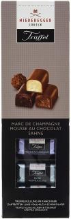 Niederegger Trüffel Variationen Trueffelfuellung in Schokolade 100g