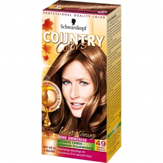 COUNTRY COLORS Intensiv-Tönung 49 Cognac Haselnuss Stufe 2 123ml
