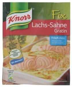 Knorr Fix fr Lachs- Sahne-Gratin