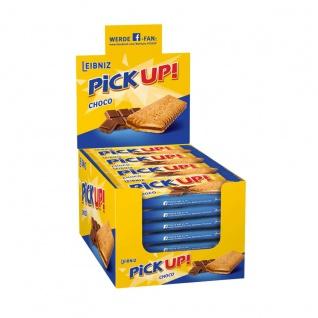 Leibniz PiCK UP! Choco Butterkeks mit Schokolade Großpackung 24 x 28g