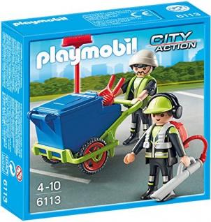 PLAYMOBIL 6113 - Stadtreinigungs-Team