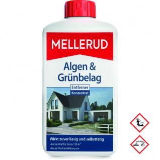 Mellerud Algen und Grünbelag Entferner Stein Holz Glas 1000ml