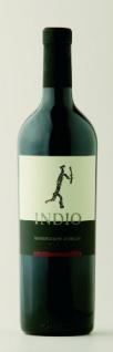 Indio Montepulciano d'Abruzzo Wein passt gut zu Fleischgerichten 750ml 12er Pack