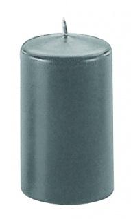 Kerzen Stumpenkerzen Candle anthrazit 80x60mm gute Qualität 1 Stück