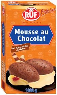 RUF Mousse au chocolate mit feinen Schokoladenstückchen 1000g