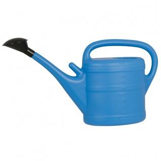Gießkanne 10 l hellblau Aufsteckbrausekopf hochwertiger Kunststoff