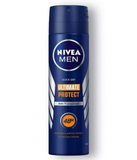 Nivea Men Deo Spray Ultimate Protect 48h Anti Transpirant Schutz 150ml