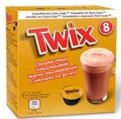 Twix Hot Chocolate Pods Dolce Gusto Keks- und Karamellgeschmack 136g