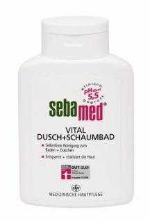 Sebamed Vital Dusch- und Schaumbad, 2er Pack (2 x 400 ml)