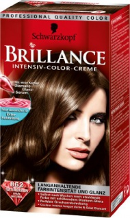 Schwarzkopf Brillance Intensiv-Color-Creme Stufe 3, 862 Braun