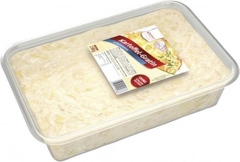 Grocholl Kartoffel Gratin in schmackhafter Sahnesauce 2, 5 kg Schale