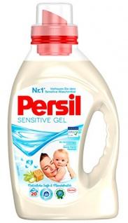 Persil Sensitive Gel, 4er Pack (4 x 20 Waschladungen)