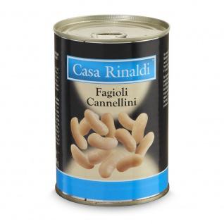 Casa Rinaldi weiße Cennellini Bohnen 400g, Abtropfgewicht 240g