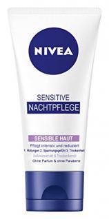 Nivea Sensitive Nachtpflege, 3er Pack (3 x 50 ml)