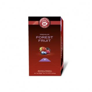 Teekanne Premium Forest Fruit Waldbeeren Früchtetee 60g 5er Pack