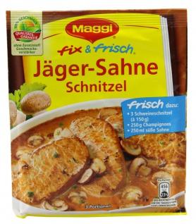 Maggi Fix für Jägerschnitzel