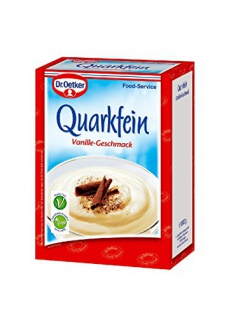 Dr. Oetker Quarkfein Vanille-Geschmack 1 kg, 1er Pack (1 x 1 kg)