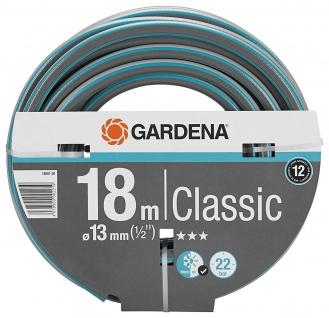 Gardena Classic Schlauch 13mm Durchmesser 18m Länge ohne Systemteile