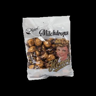 Henri Milchdrops Coffee Like Bonbons Hartkaramellen mit Kaffeefüllung 250g