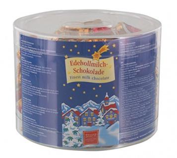 Storz Mini Weihnachtsbärchen Edelvollmilchschokolade 100 x 5g
