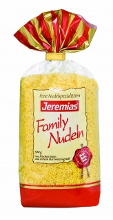 Jeremias Sterne, Classic Frischei-Family-Nudeln, 4er Pack (4 x 500 g Beutel)