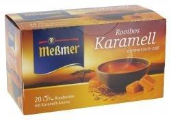 Meßmer Rooibos Karamell Tee aromatisch und süßlicher Genuss 40g